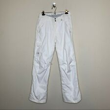 The North Face White Freedom Insulated Snow Pants Womans Size M