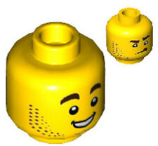 Lego Light chair version Tête X 1 Angry Face avec Barbiche Barbe /& Chaume Pattern