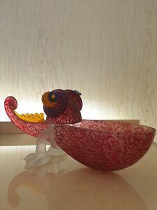 Borowski Glas Chameleon Schale