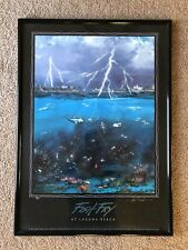 Fish Fry At Laguna Beach Signed Clint Bonz Sloan Limited Edition 233/500 RARE!