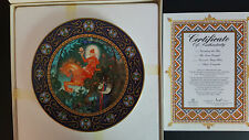 Villery Boch Collector Plates - Russian Fairy Tales, THE RED KNIGHT