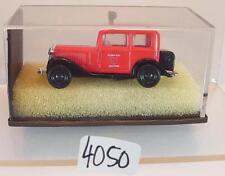 Brekina 1/87 Opel P4 Limousine Feuerwehr Pompiers Ascora OVP #4050