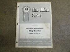 International Harvester Wagner 60 90 backhoe repair & service manual