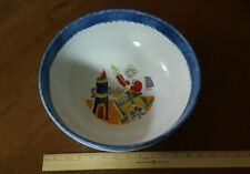 """DESIMONE ITALIAN Pottery 12"""" Serving Bowl  Marked & Numbered"""