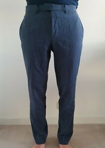 Hugo Boss Mens Business Work Pants / Trousers - Size 30R - Wool/Cotton Blend