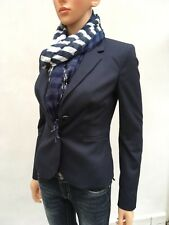 Mexx blazer navy blue size 6 UK fitted fully lined in excellent condition