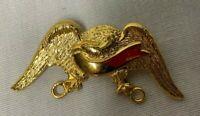 Vintage Boy Scout Eagle Patch Pin