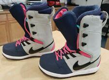 Nike Vapen Snowboard Boots 447124 Granite/Black Midnight Navy Spark Sz 7.5-US