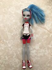 "Monster High 11"" Doll GHOULIA GHOST DEADUCATION SCHOOL CLASSROOM PHYSICAL"