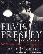 Elvis Presley: A Life in Music by Ernst Jorgensen (Hardback, 1998)