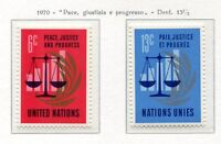 19095) UNITED NATIONS (New York) 1970 MNH** Nuovi** Peace