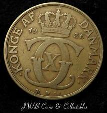 1936 Denmark 2 Kroner Coin