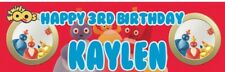 2 x Personalized Birthday Banner Twirlywoos Party Nuersry Kid Children 1st birth