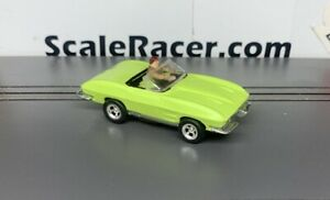 Lime '63 Vette Convet Body(ONLY) for Aurora Dash,AW Tjet type Chass
