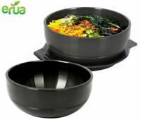 Korean Cooking Stone Bowl Dolsot Sizzling Hot Pot Bibimbap Soup Tongs Prop