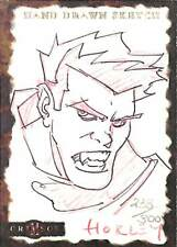 Crimson 2001 Dynamic Sketch Card Horley 238/300