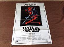 1980 The Stuntman Original Movie House Full Sheet Poster