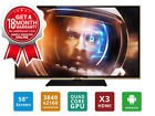 "SONIQ 58"" Ultra HD LED Smart TV (Refurbished) Model: T2U58V14A"
