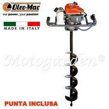 Mototrivella Oleo Mac MTL51  professionale 50.2cc completa di una punta da 150mm