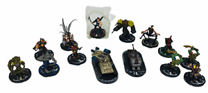 Lot of 14 Mage Knight WizKids, Miniature Figures, Rebellion & Dungeon
