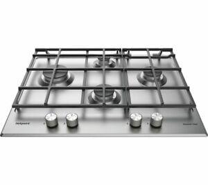 HOTPOINT PKL 641 EX/H 65cm 4 Zone Gas Hob - Stainless Steel