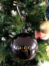 GUCCI  BEAUTY LIMITED EDITION Christmas Glass Ball Ornament 2014