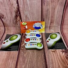 Xbox 360 big button pads controllers buzzers x 4 scene it quiz show accessories