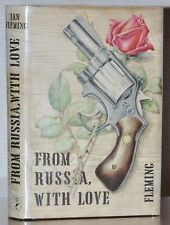FROM RUSSIA WITH LOVE ~ NEAR FINE 1ST/1ST UK EDITION  ~ IAN FLEMING