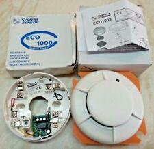 ECO 1003 Photoelectric Optical Smoke Detector & ECO 1000 Relay Base Ref 804635