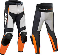 KTM Motorbike Motorcycle Rider Leather Pant LP-01-2019 ( US 38-48 )