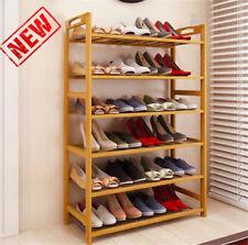 6 Tier Shoe Rack Entryway Shoe Shelf Holder Storage Organizer Home Furniture