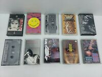 ROCK N ROLL CASSETTE TAPES 10 Pc. LOT #6