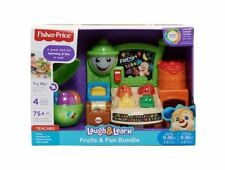 Fisher Price Laugh & Learn Fruits & Fun Learning Market & Happy Apple Giftset