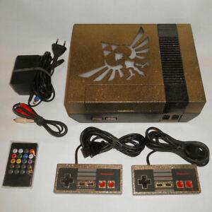 The Legend of Zelda Nintendo NES Konsole Custom Design Mod  RGB Beleuchtung .