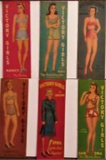 Vintage Uncut 1940's Victory Girls Paper Dolls~All Six Sets~#1 Reproduction~Rare