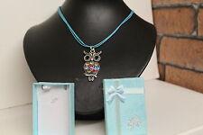 Fashion Jewellery Necklace= Owl