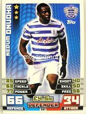 Match Attax 2014/15 Premier League - #221 Nedum Onuoha - Queens Park Rangers