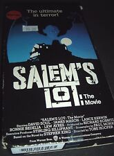 Salems Lot: The Movie (VHS, 1993, Overseas Theatrical and Cable TV Cut)