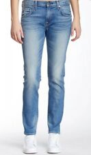 Seven 7 For All Mankind THE RELAXED SKINNY Mid Rise Straight Girlfriend Jeans 28