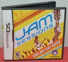Nintendo DS DSi Jam Sessions Video Game Guitar Playing Simulator Songs 3DS XL