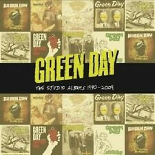"GREEN DAY  ""THE STUDIO ALBUMS 1990-2009"" 8 CD BOX DOOKIE INSOMNIAC NIMROD NEU"