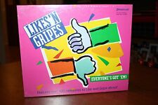 Likes 'N Gripes Game -Everyone's Got 'Em! Features 400 Categories to Gripe About