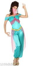 Costume Woman Princess JASMINE XL 44 Suit Adult Arab Drawing Cartoon