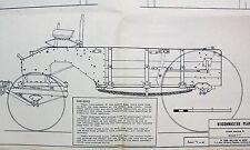 Wagon Master Western Dump Wagon Vintage 1980's Model Plans Stage Coach 1-12