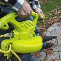 Sun Joe 3-in-1 Electric Leaf Blower | Certified Refurbished | 90 Day Warranty