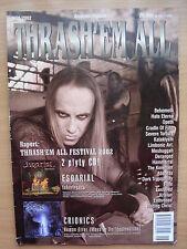 THRASH'EM ALL 6/2002 BEHEMOTH,Opeth,Cradle Of Filth,Deranged,Enthroned,Enslaved