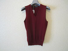 D'Squared Classic Knit Wool Sleeveless Sweater Vest