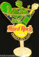 Hard Rock Cafe BELFAST 2004 Happy New Year PIN Martini Glass HRC Catalog #22203