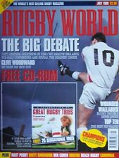 RUGBY WORLD MAGAZINE JULY 1999 - LEICESTER, BRISTOL, ALDWINIANS, NEATH COLLEGE