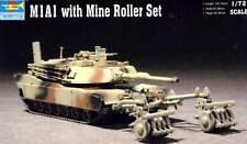 Trumpeter - M1A1 Mine Roller Tank Minenräumer Panzer Modell-Bausatz 1:72 NEU kit